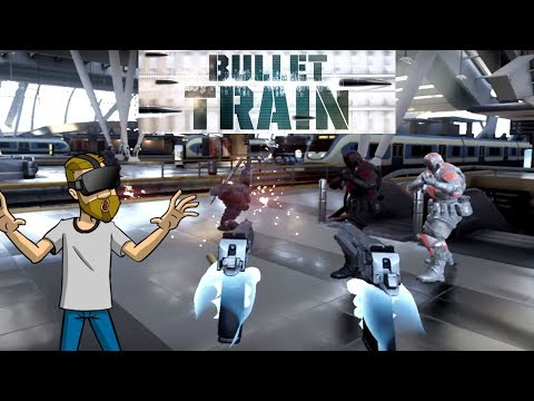 SUBWAY SHOOTOUT! | Bullet Train VR | Oculus Rift