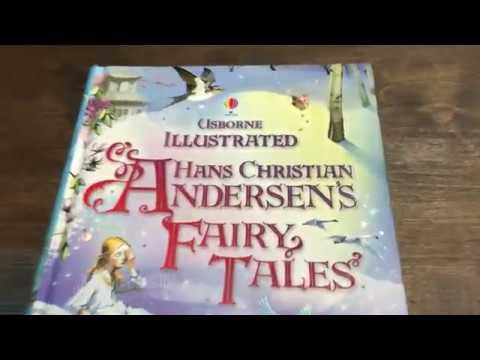 Kids-Books: Детская книга Usborne Illustrated Hans Christian Andersen's Fairy Tales