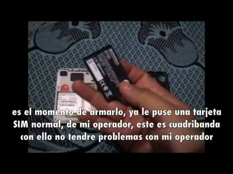 Motorola Charm MB502 Android Unboxing+Review (En Español)
