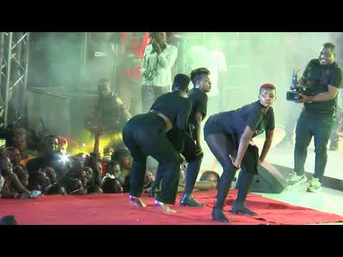 Lydia Jazmine and Winnie Nwagi performance at Spice Diana concert ndi mu love