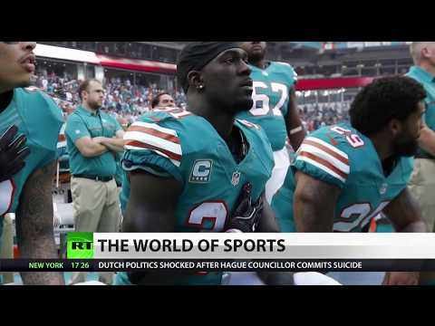 NFL Players Continue Protest, Trump Lashes Out on Twitter