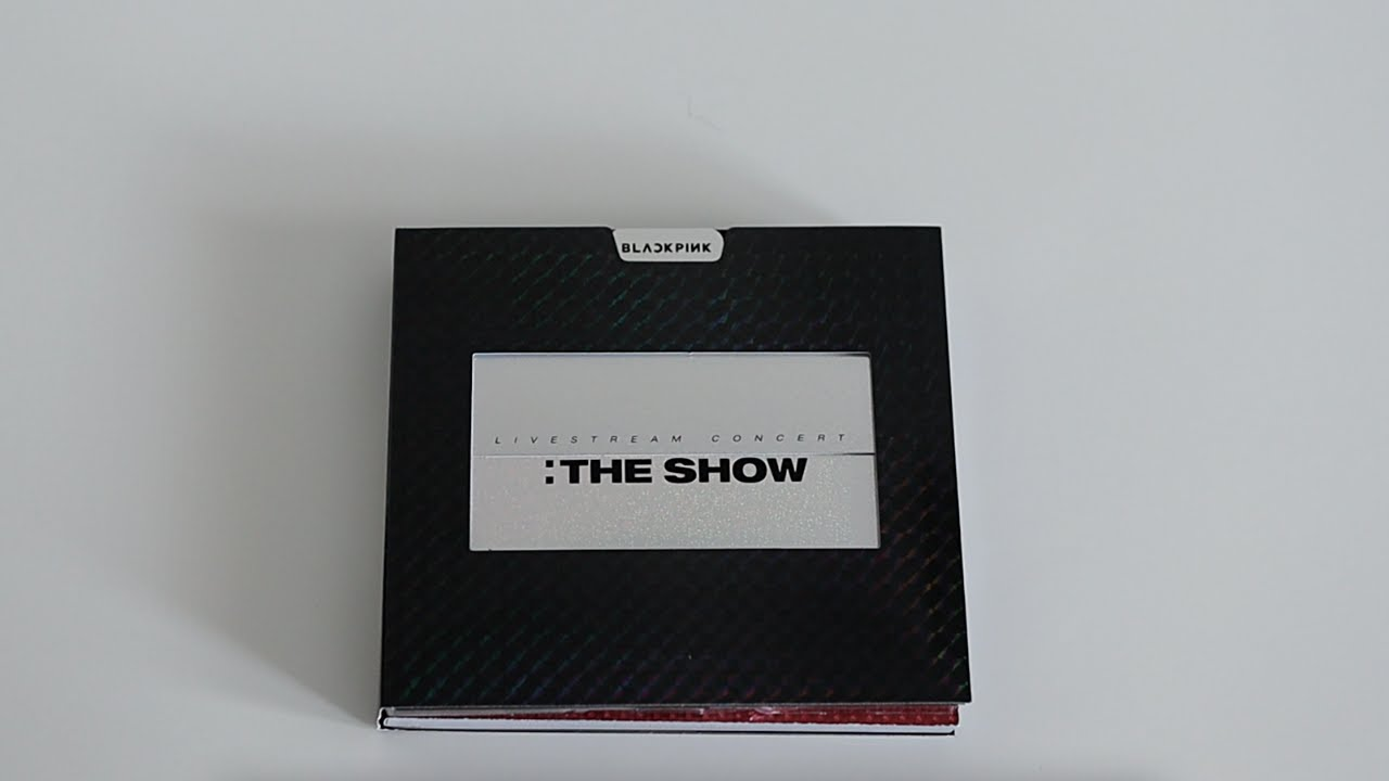 Unboxing | BLACKPINK 2021 [THE SHOW] LIVE CD