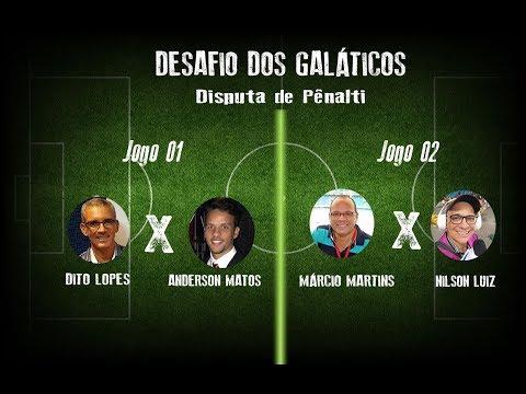 DESAFIO DE PÊNALTIS  GALÁTICOS x EMERSON FERRETI