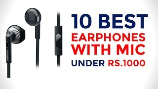10 Best Earphones with Mic Under Rs. 1000