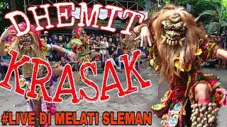 Gambar cover DHEMIT KRASAK, Rampak Buto Gedruk Live di Glondong Mlati Sleman  2019