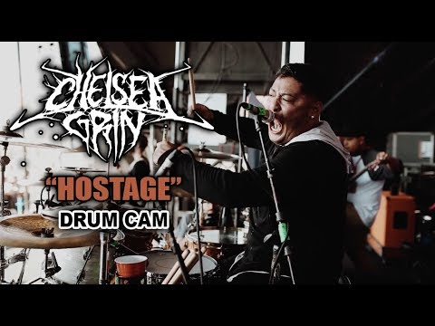 Chelsea Grin | Hostage | Drum Cam (LIVE)