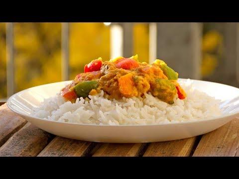 Indisches Paprika Curry- Masala Rezept -Vegan Vegetarisch