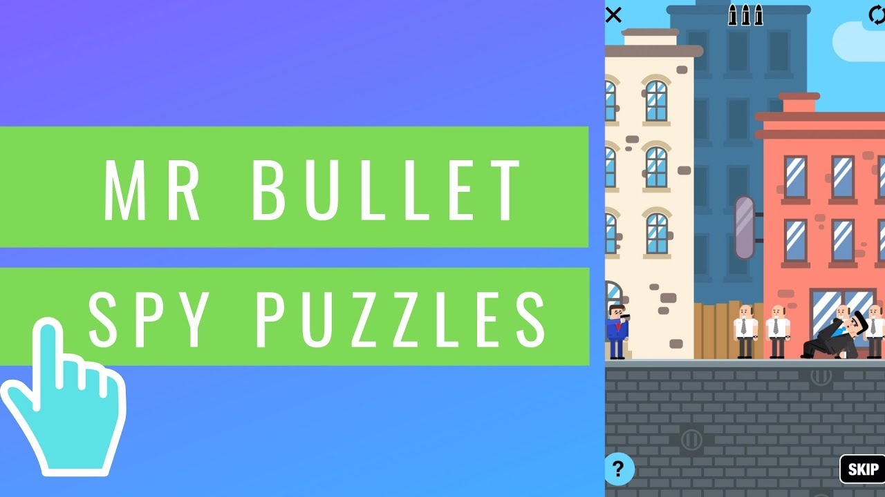 Mr Bullet - Spy Puzzles | iOS / Android Mobile Gameplay
