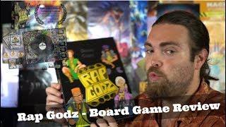 Rap Godz - Kickstarter - Board Game Review