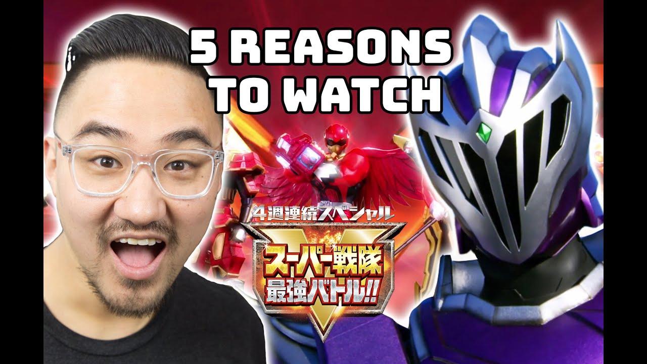 5 Reasons To Watch Super Sentai Strongest Battle