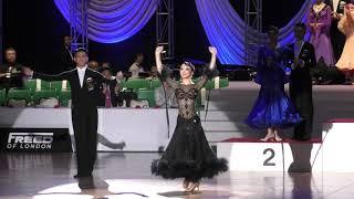 2018 Japan International Dance Championships アマチュアスタンダード結果発表