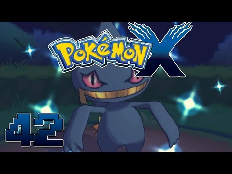 Let's Play Pokemon X Part 42 Pokemon Village Shiny Bannette - Gameplay Walkthrough