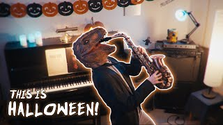 This is Halloween (EXCESSIVELY HAPPY COVER!) - The Nightmare Before Christmas