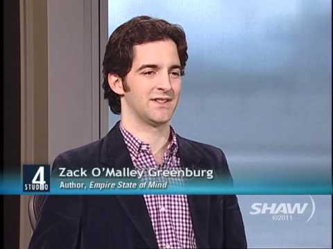 Zack O'Malley Greenburg on Studio 4 with Host Fanny Kiefer Part 2 ...
