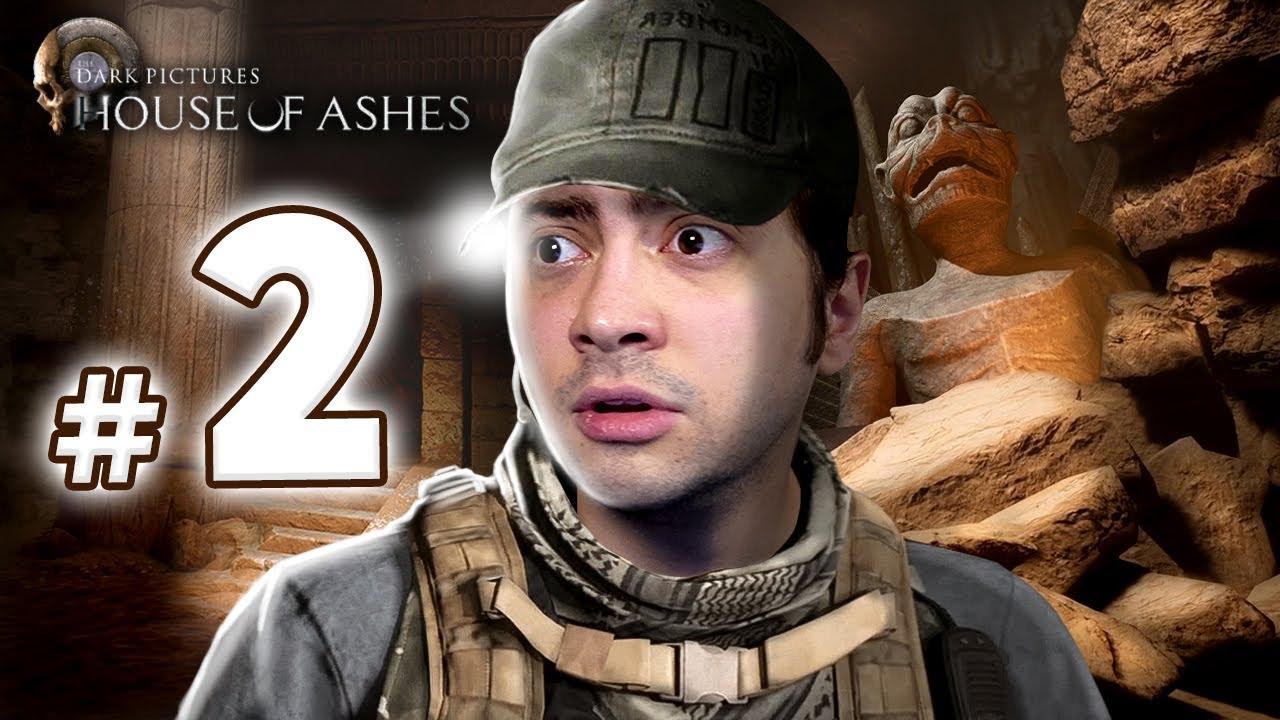 alanzoka jogando The Dark Pictures: House of Ashes - Parte #2