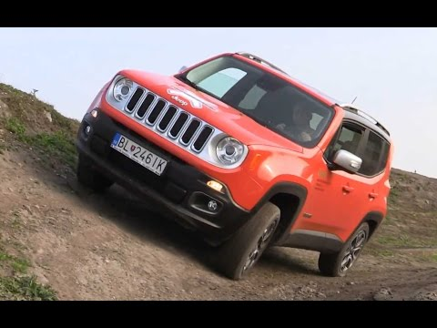 test Jeep Renegate 2015 - offroad ride