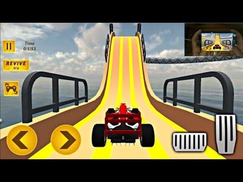 Formula Ramp Car Stunts Game #1 - Impossible Car Stunts 2020 Gameplay