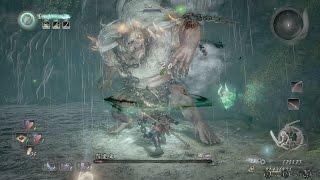 【PS4 Pro】仁王/NIOH - #81 近江篇 サブミッション・姥捨山 BOSS 怨霊鬼 NO DAMAGE