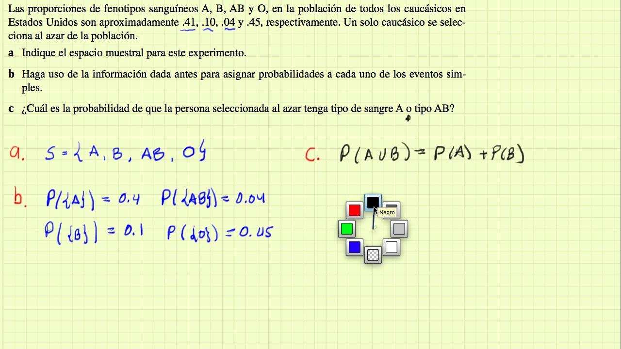 �y.��b&�c��.%��9��:(_Probabilidad-ejercicios9,10y11-YouTube