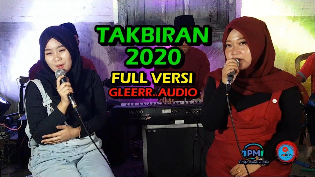 TAKBIRAN. FULL VERSION JARANAN GEDRUK KOPLO GLEERR AUDIO. PM RECORD 2020