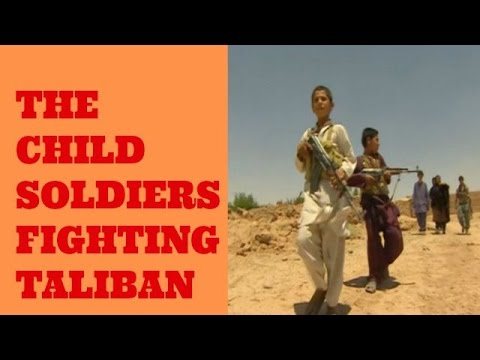 Afghanistan: Children fighting the Taliban.