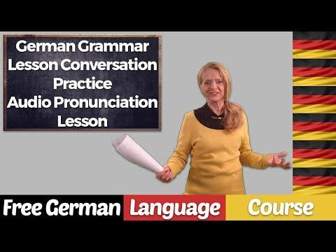 German Grammar Conversation Practice - (Audio Lesson) - A 82