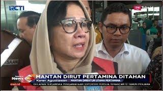 Download Video Mantan Dirut Pertamina, Karen Agustiawan Ditahan Kejagung - SIP 25/09 MP3 3GP MP4