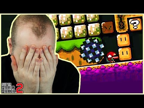 Juz a Walk In The Park // TROLL Level [Super Mario Maker 2]