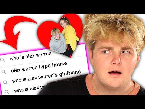 Did Alex Warren Start Dating Kouvr on TikTok?! - Internet's Most Searched Questions | AwesomenessTV