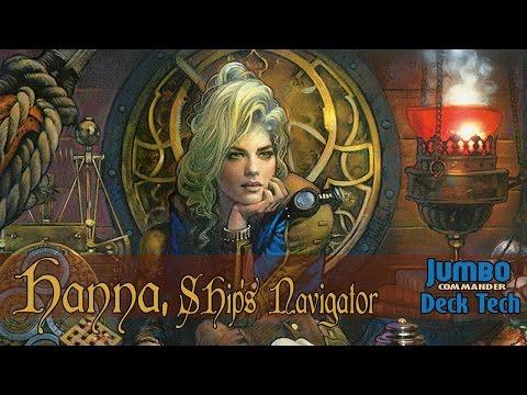 Hanna Ship's Navigator Commander Deck Tech