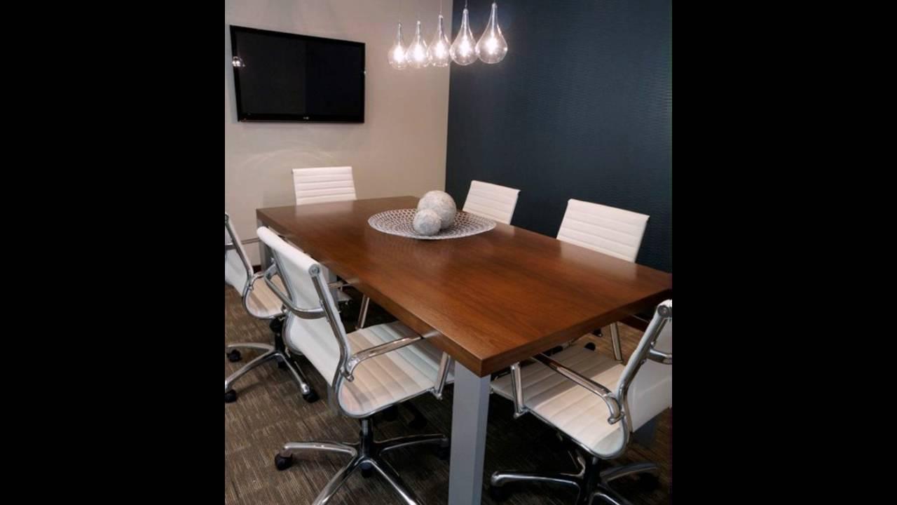 Büromöbel Besprechungstisch Holz Tischplatte - YouTube