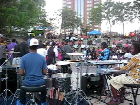 Me on drums (Yahwe/Let It Rise) @ Gospel On The Ri...