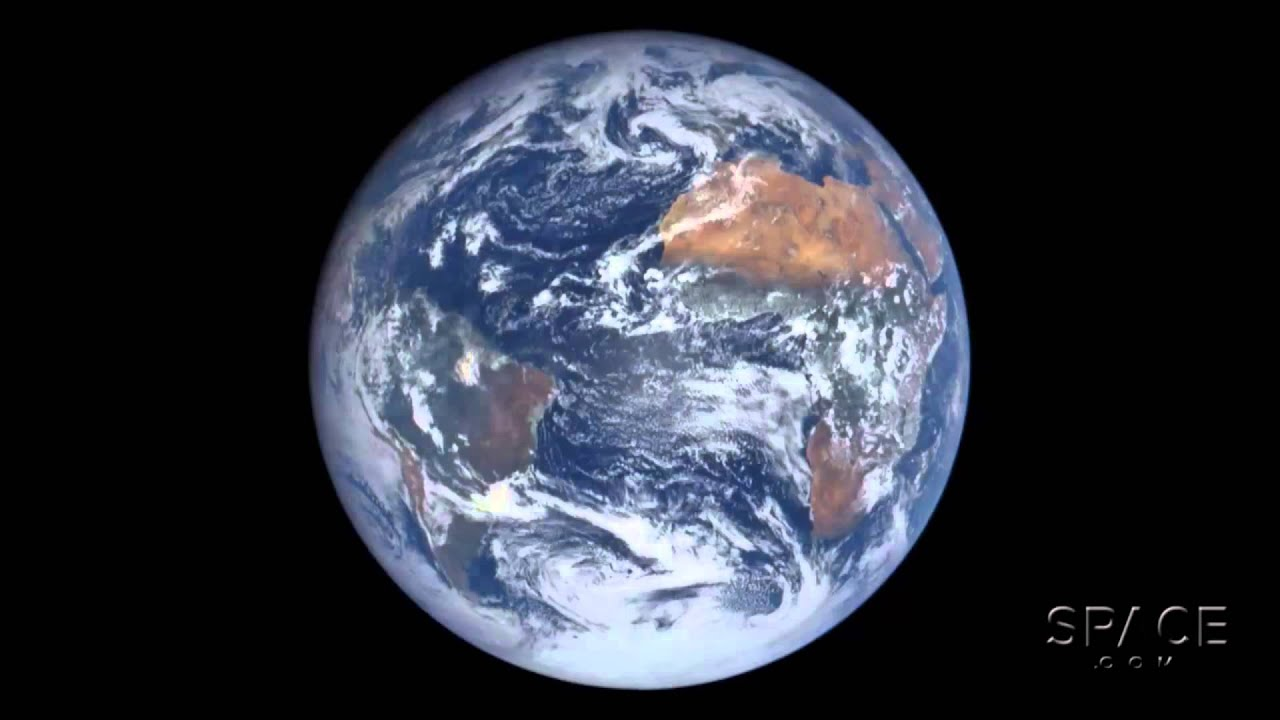 Earth: One Full Day From One Million Miles | Time-Lapse ...
