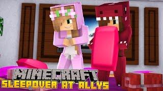 Minecraft - LITTLE KELLY & LITTLE ALLY TALK ABOUT BOYS!