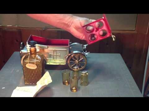 Old car decanter music box