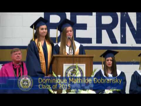 St Bernards High School Graduation May 29, 2015