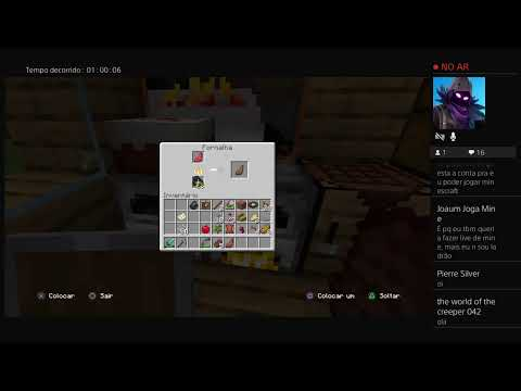 Super Live De Danilo Cs Games( Minecraft )