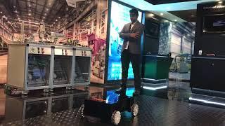 M.A.R.C. Bx (Brain Controlled Robot) Concept Model