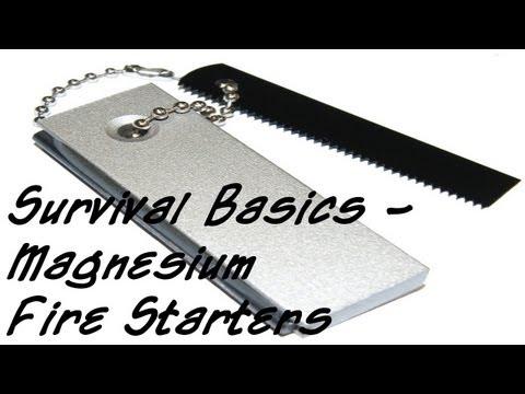 Survival Basics - Magnesium Fire Starters