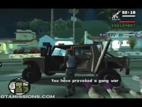GTA: San Andreas - ps2 - 100 - Beat Down On B Dup
