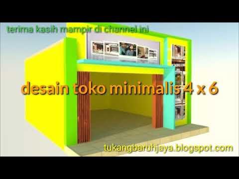 Desain Toko Minimalis 4 X 6 Youtube