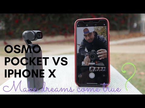 Dji Osmo Pocket Vs Iphone X Comparison