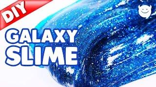 DIY Galaxy Glitter Slime | MonsterKids