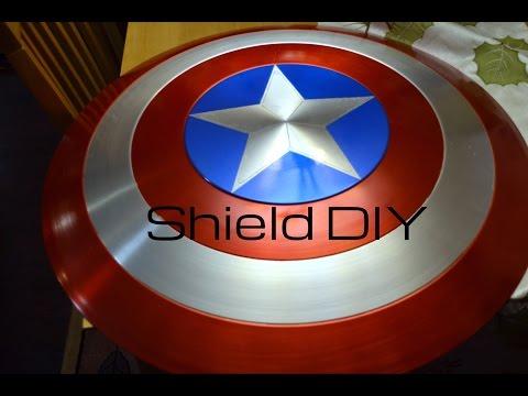 Authentic Captain America Shield V. 2.0: DIY Tutorial