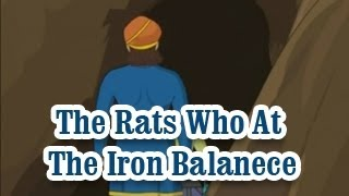 The Rats Who At The Iron Balanece | Panchatantra Tales | English Animated Stories For Kids