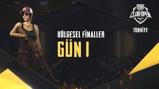 [Türkçe] PMCO Türkiye Finalleri 1. Gün | Bahar Dönemi | PUBG MOBILE CLUB OPEN 2020