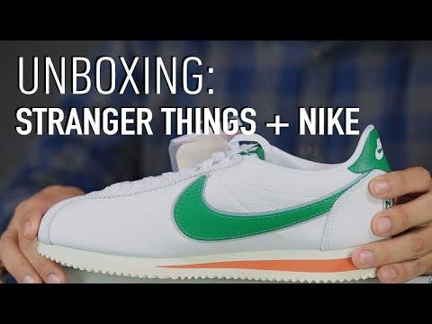 Unboxing: Así es la nueva colección de Stranger Things + Nike