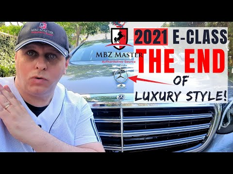 THE END of Mercedes Iconic Luxury Style in 2021 E-Class | The Short Review!
