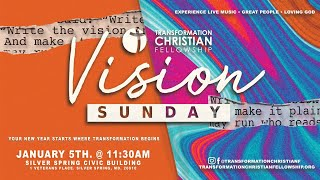 VISION SUNDAY 2020 (PROMO) | TRANSFORMATION CHRISTIAN FELLOWSHIP