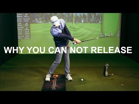 WHY YOU CAN NOT RELEASE THE CLUB IN THE GOLF SWING